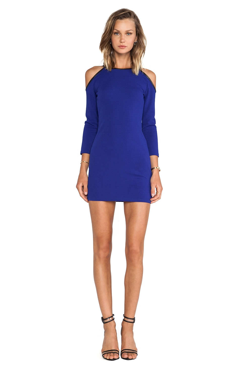 Lovers + Friends Yours Mini Dress in Blue
