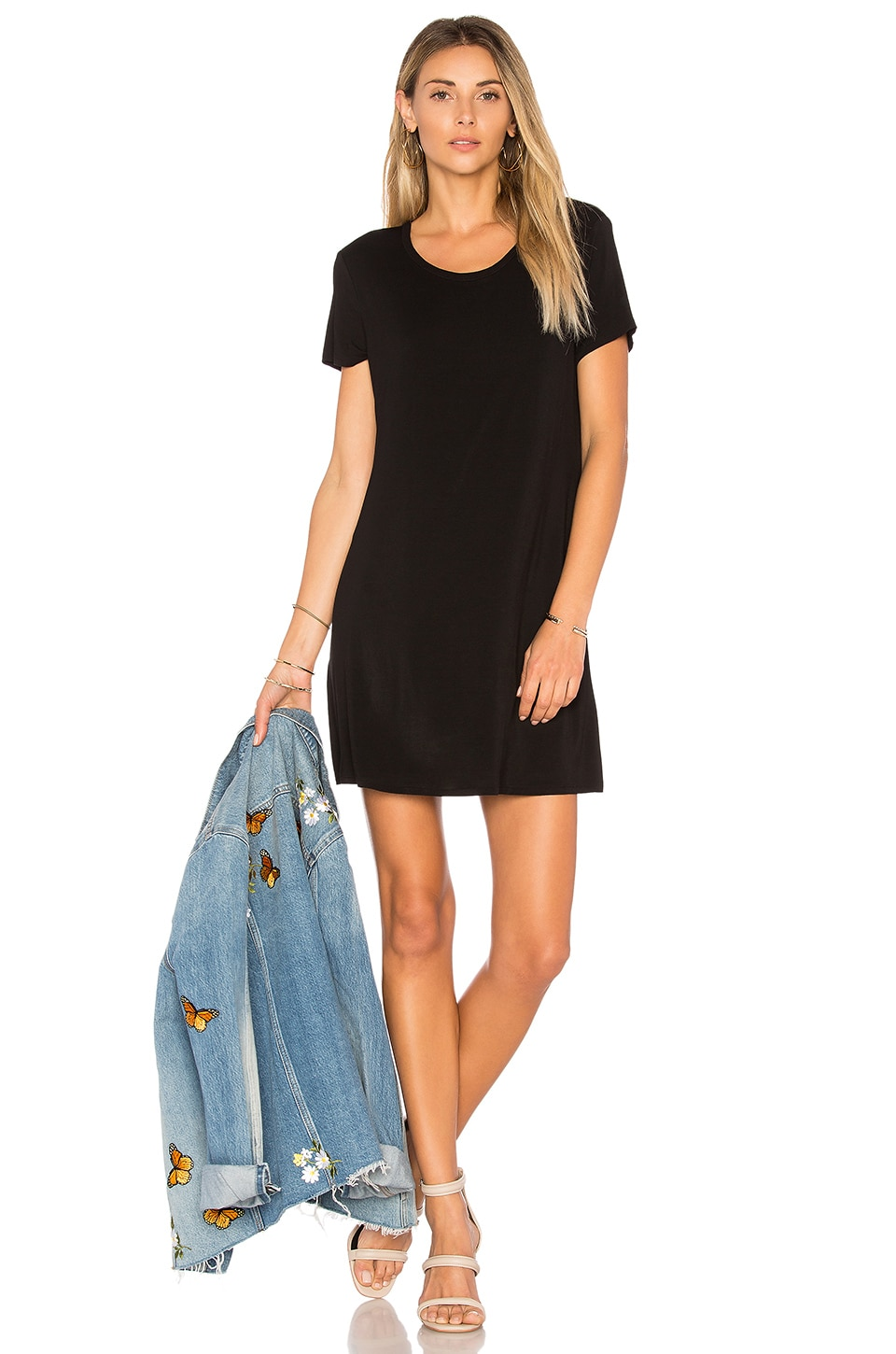 Lovers + Friends Rata Dress in Black