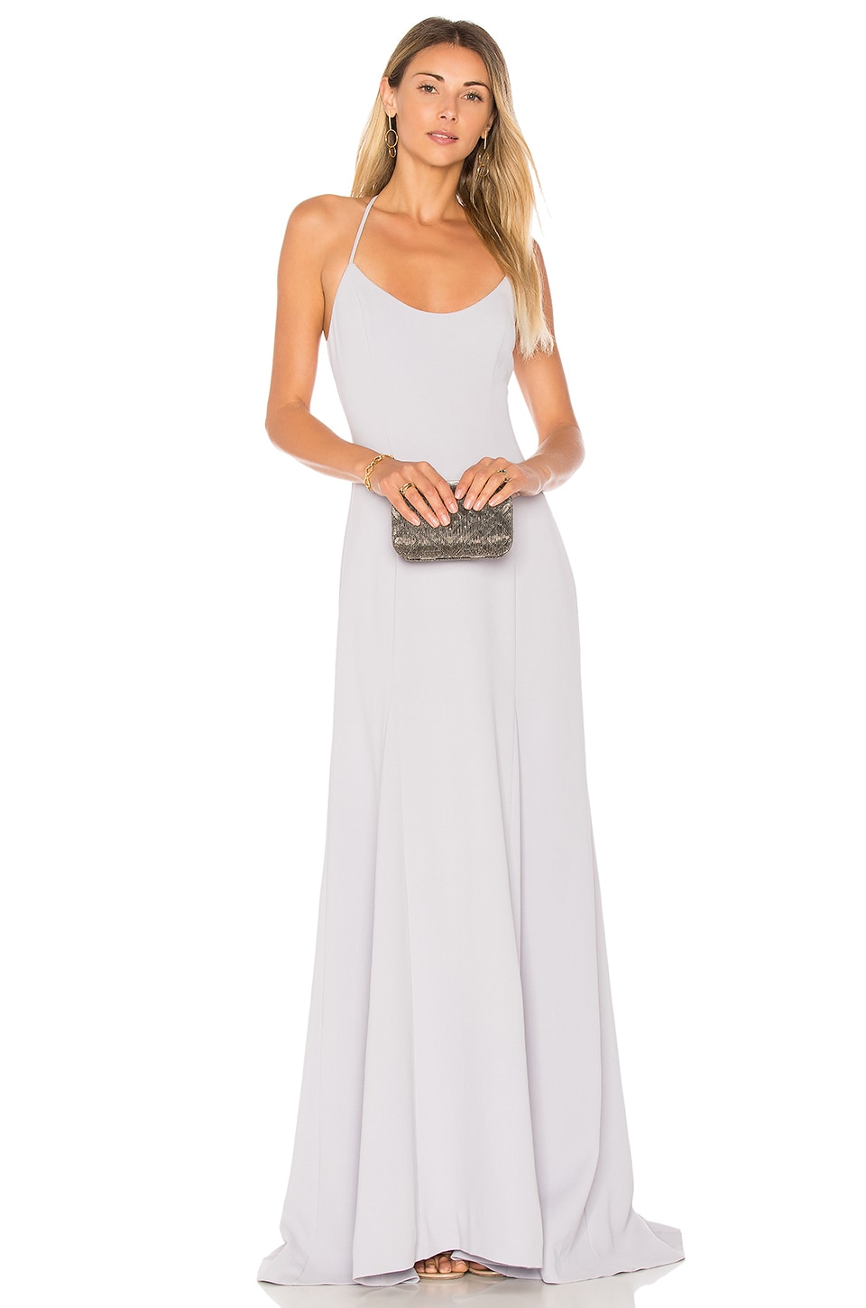 Lovers + Friends x REVOLVE Brantford Gown in Periwinkle