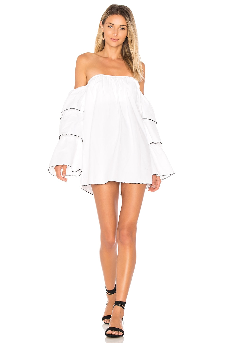 Lovers + Friends x REVOLVE Ronita Dress in White