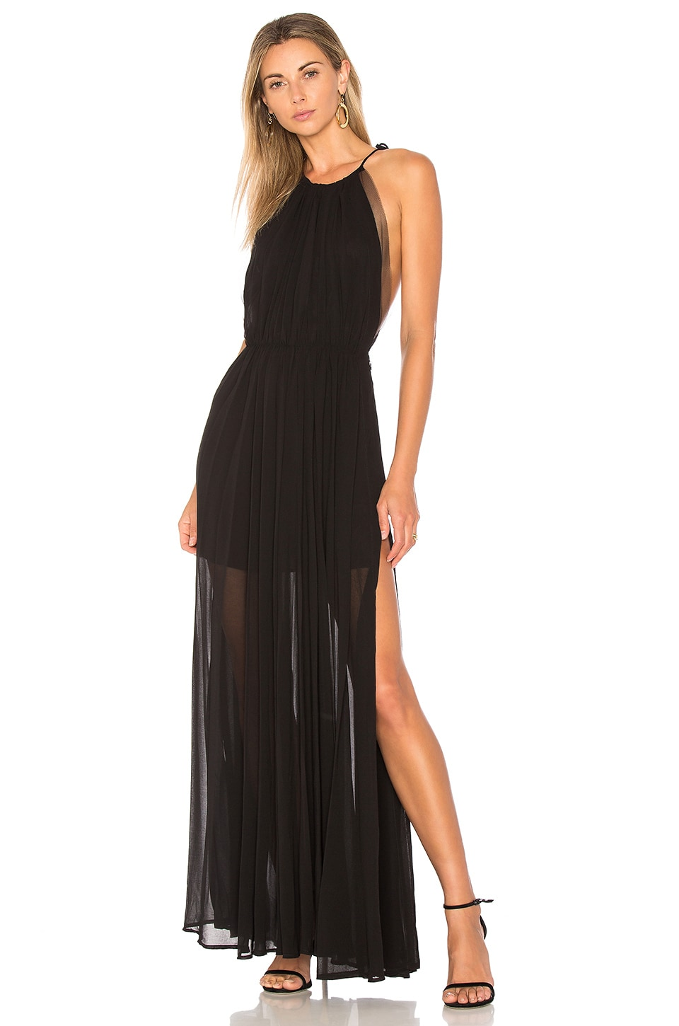 Lovers + Friends x REVOLVE Ezra Gown in Black