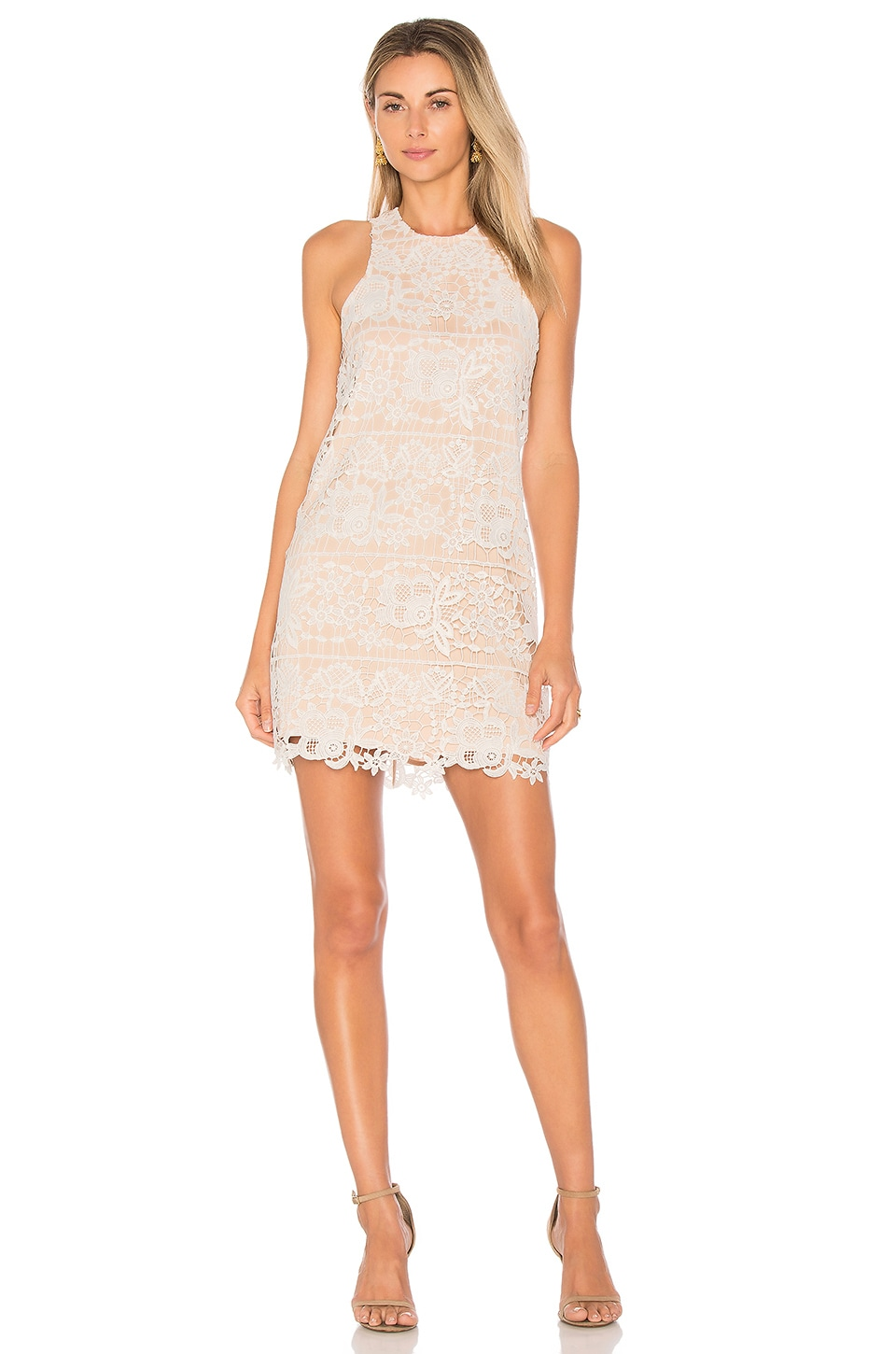 Lovers + Friends Caspian Shift Dress in Ivory