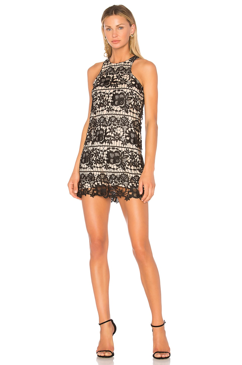 Lovers + Friends Caspian Shift Dress in Black