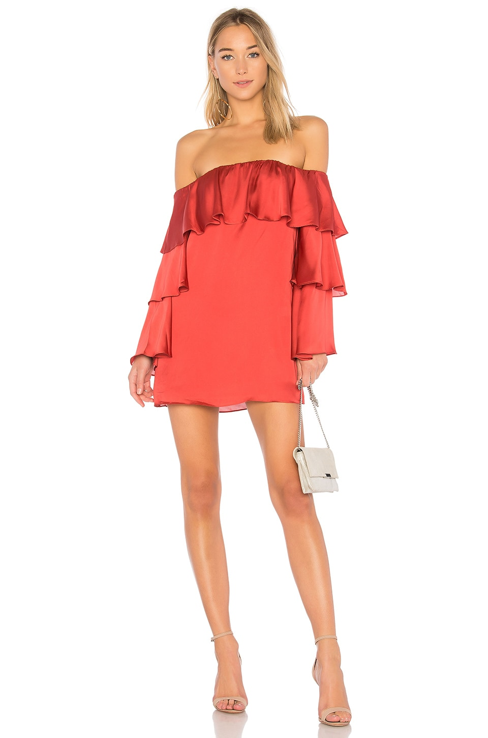 Lovers + Friends x REVOLVE Etra dress in Strawberry