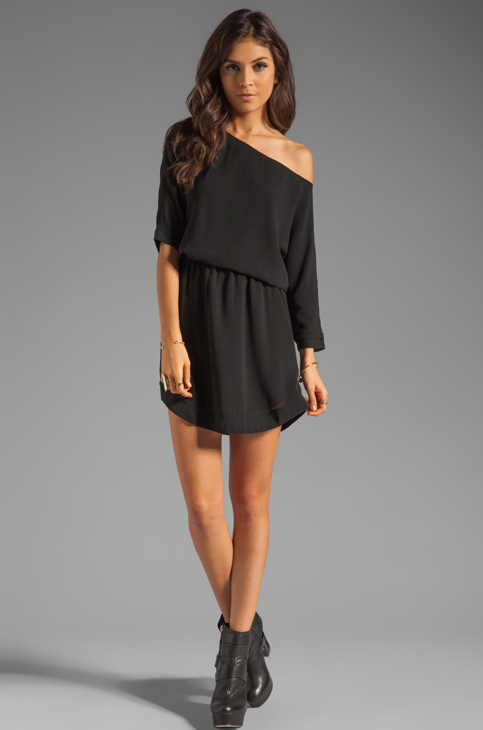 Lovers + Friends Easy Dress in Black