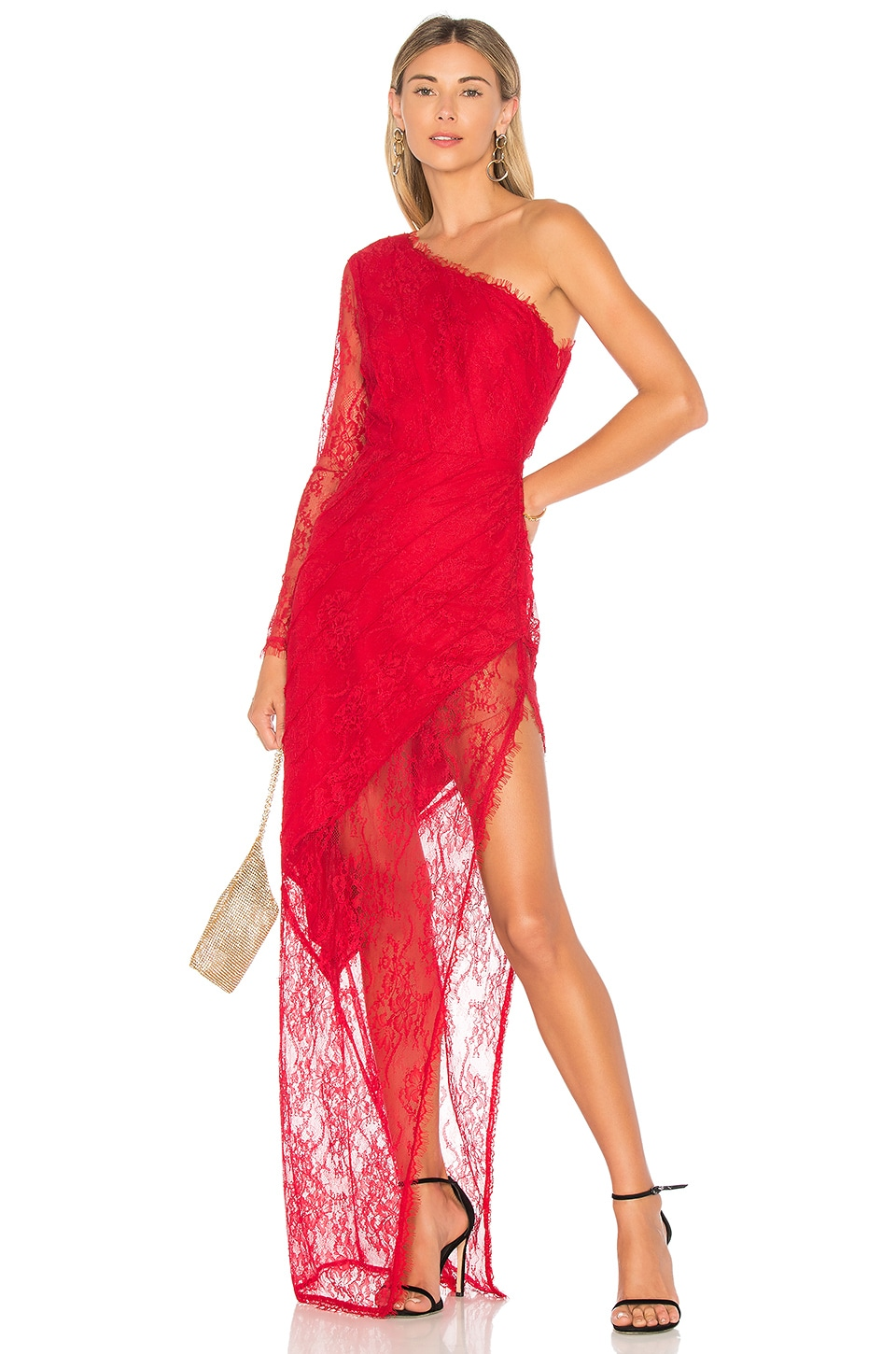 Lovers + Friends x REVOLVE Yara Gown in Red