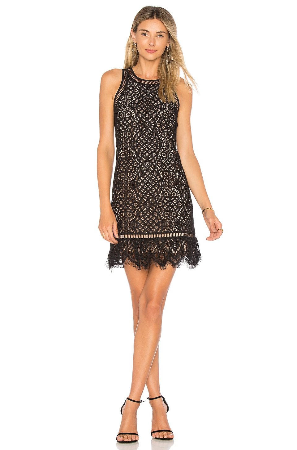 Lovers + Friends Caspian Nights Dress in Black