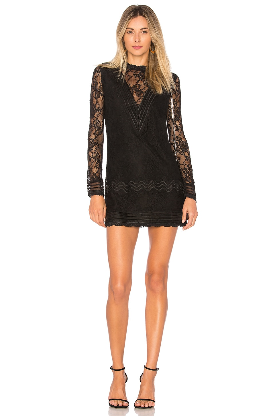 Lovers + Friends ROBE COURTE LORDE