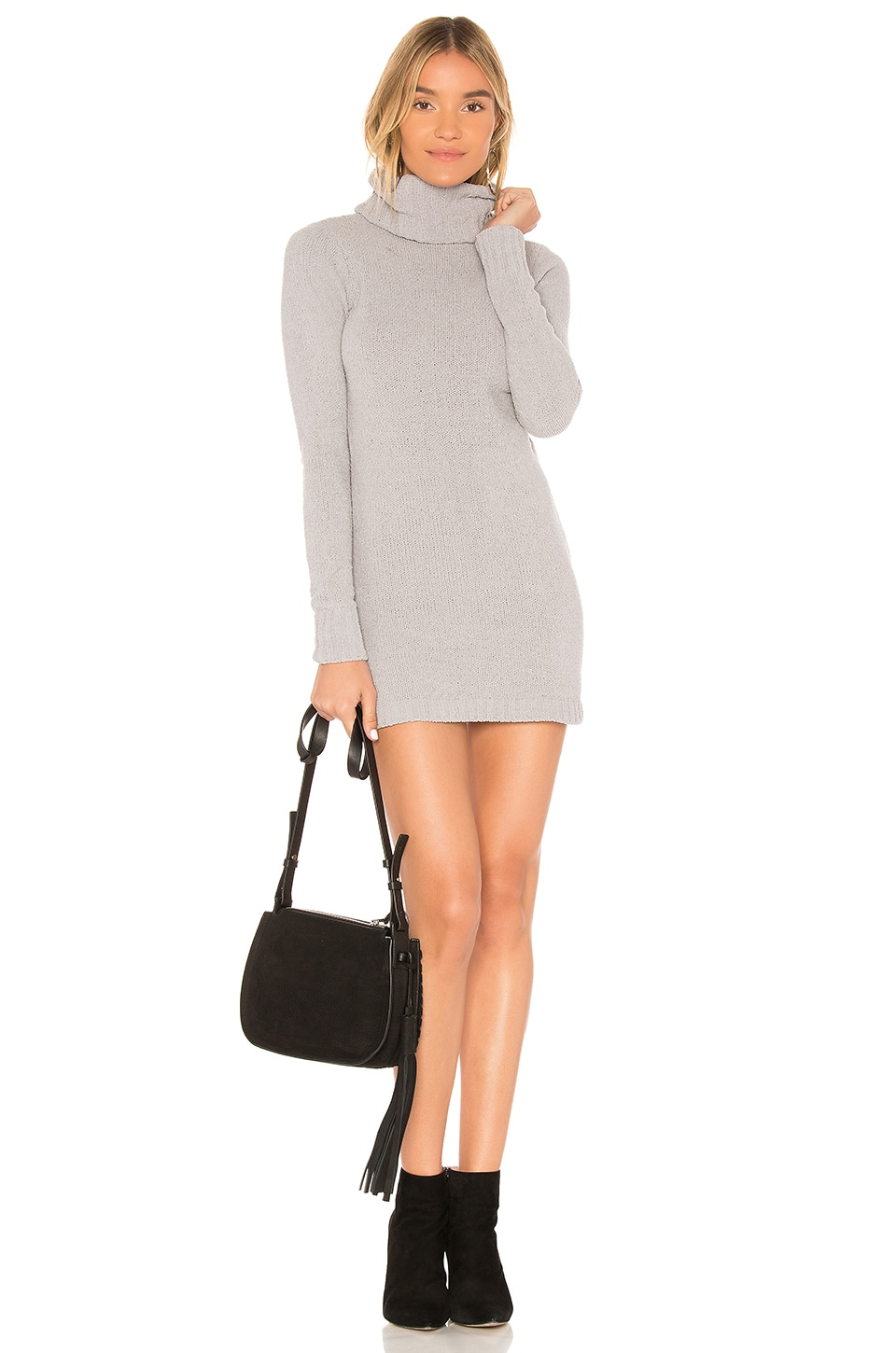 Lovers + Friends Colby Dress in Heather Grey