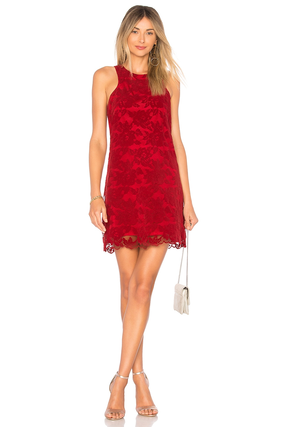 Lovers + Friends Caspian Dress in Bordeaux
