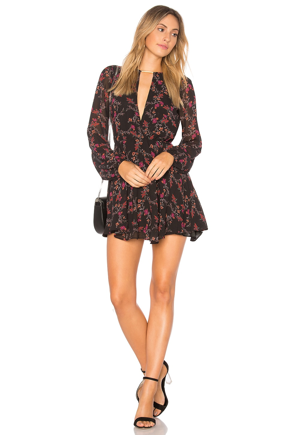 Lovers + Friends Lana Dress in Dark Autumn Floral