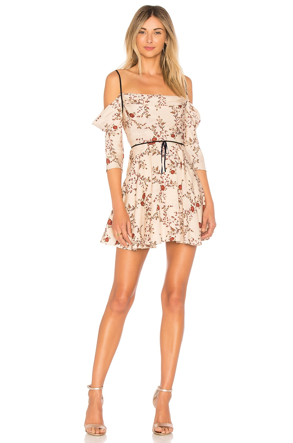 Lovers + Friends ROBE COURTE CINDY