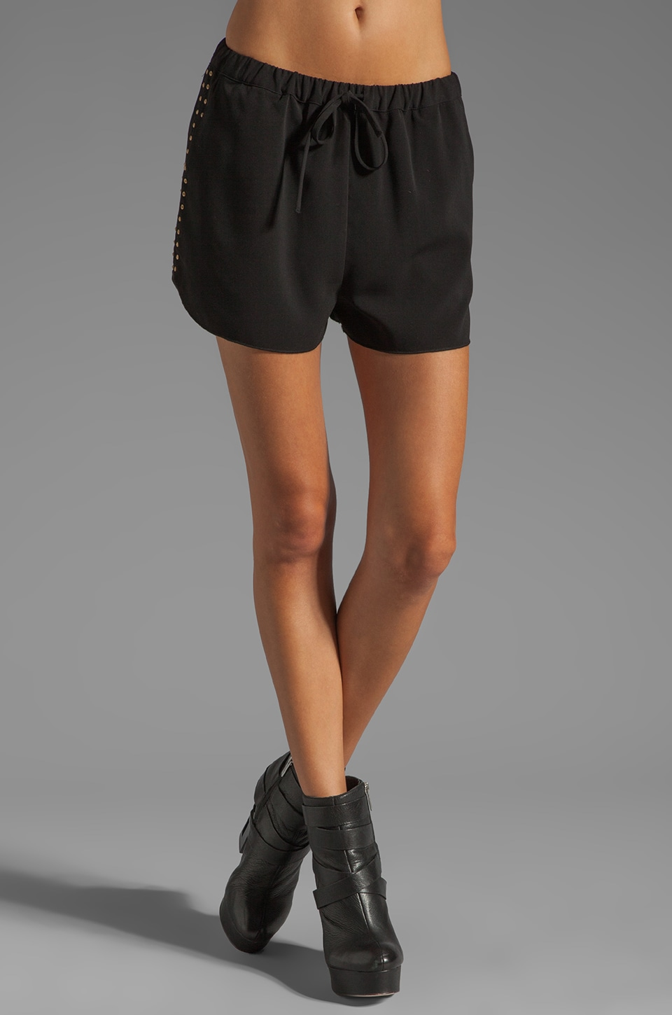 Lovers + Friends Adore Shorts in Black