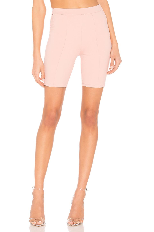 Lovers + Friends Riri Biker Shorts en Blush