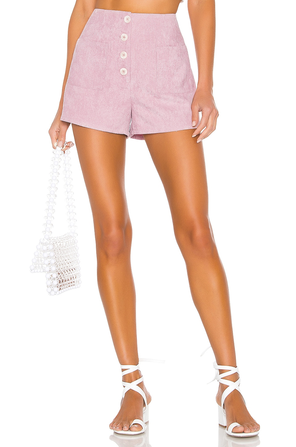 Lovers + Friends Sofia Shorts in Lilac