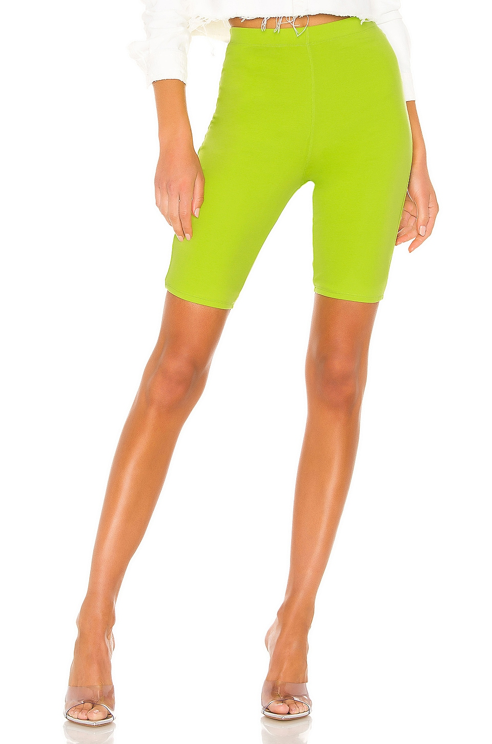 Lovers + Friends Jewel Short in Neon Green