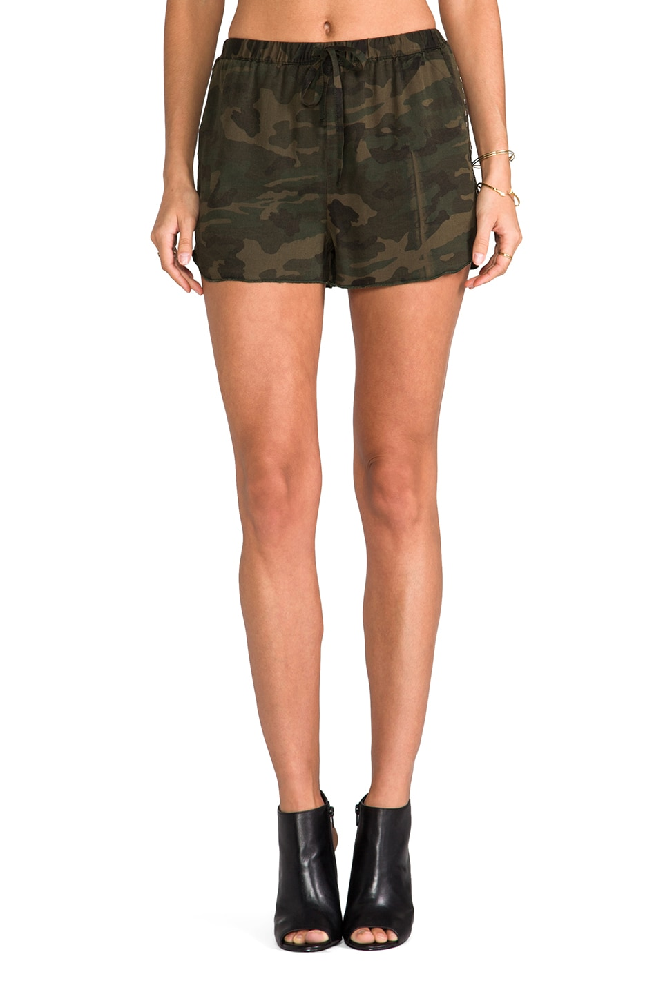 Lovers + Friends for REVOLVE Adore Shorts in Camo