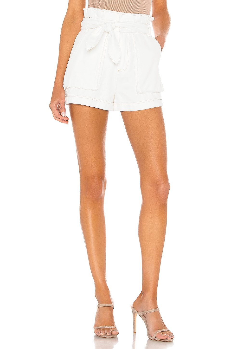 Lovers + Friends Bristol Short in Ivory