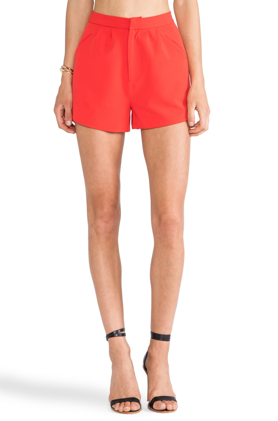 Lovers + Friends Kind Of Love Short in Poppy