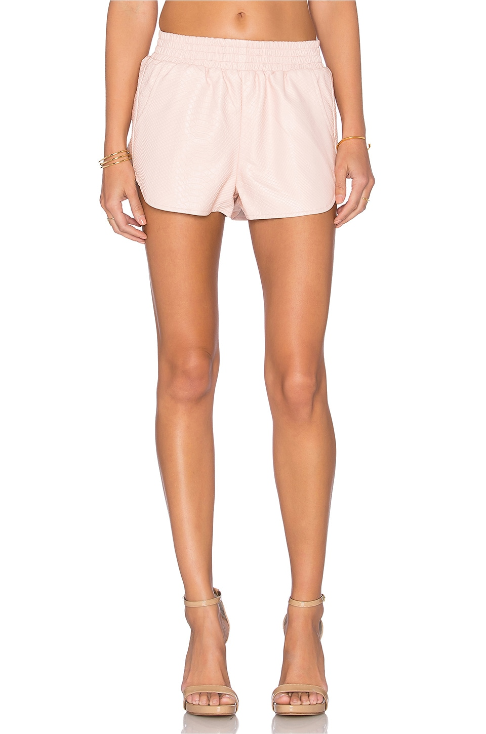 Lovers + Friends x REVOLVE Soccer Short in Nude