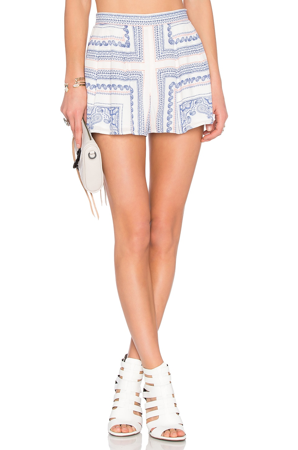 Lovers + Friends Sasha Shorts in Bella Scarf