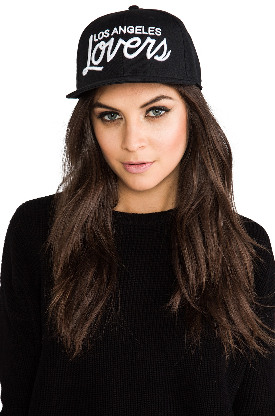 Lovers + Friends Los Angeles Logo Snapback