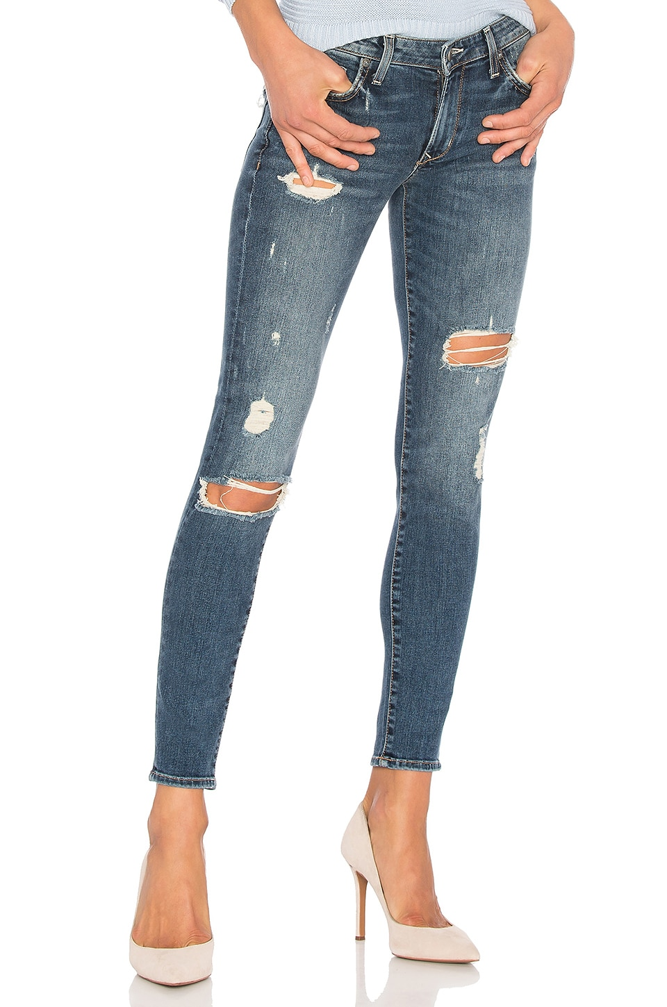 Lovers + Friends x REVOLVE Ricky Skinny Jean in Axis