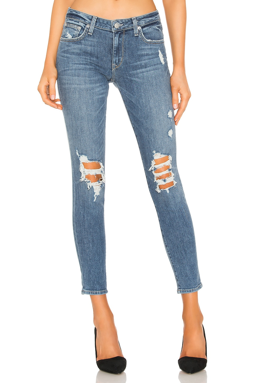 Lovers + Friends Ricky Skinny Jean in Crescent