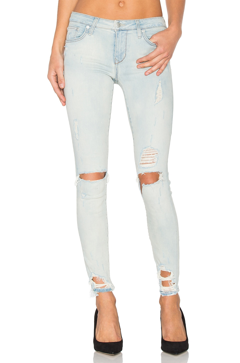 Lovers + Friends JEAN SKINNY PETITE RICKY