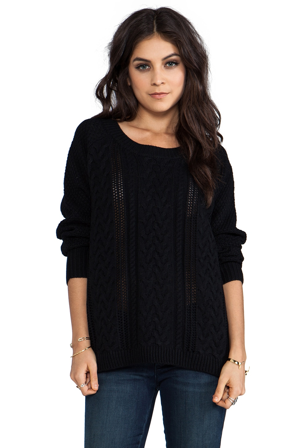 Lovers + Friends So Good Sweater in Black