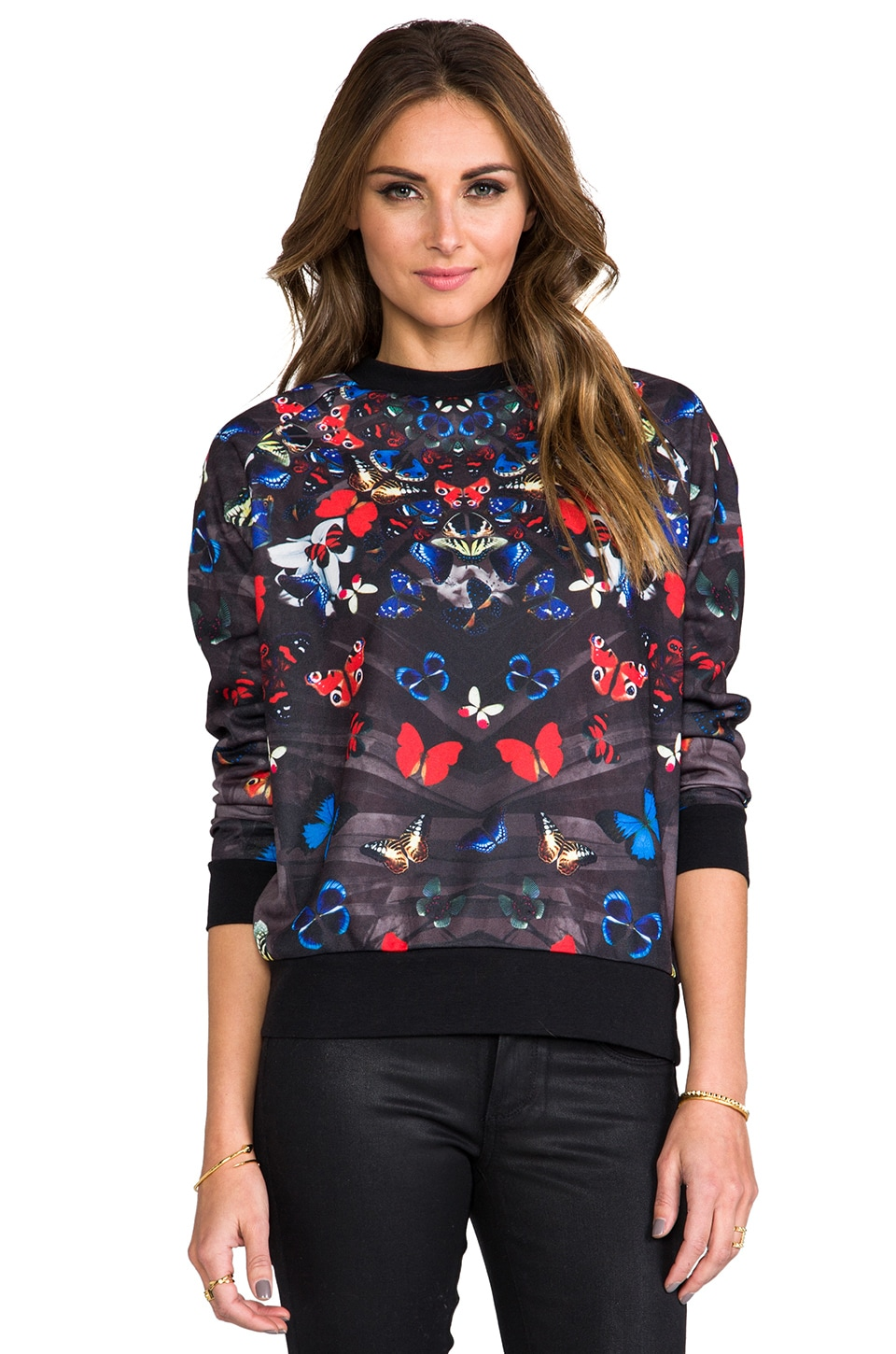 Lovers + Friends Laid Back Pullover Sweater in Mariposa