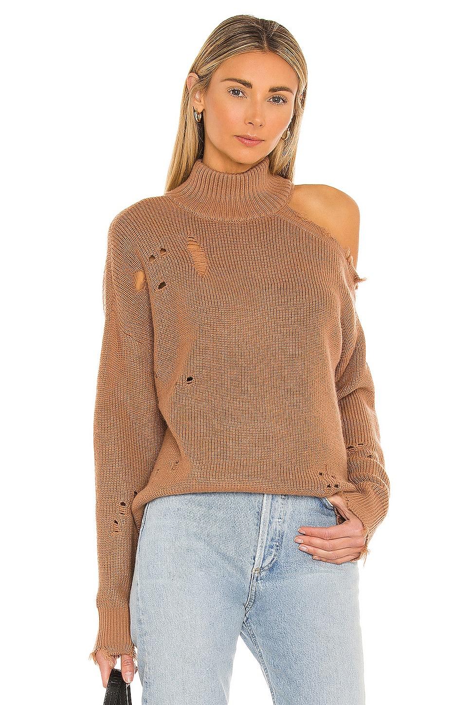 Lovers + Friends Arlington Sweater in Camel