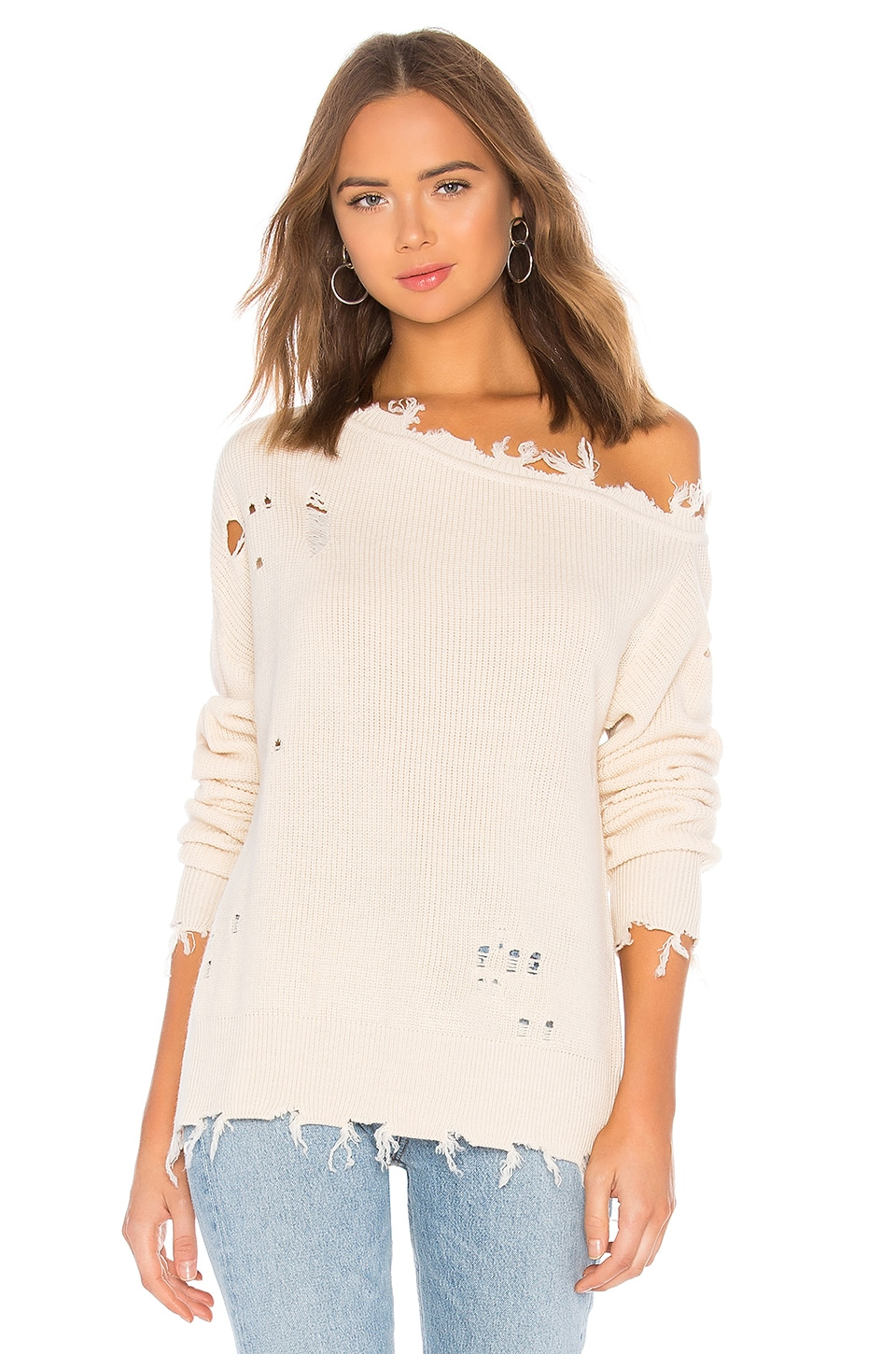 Lovers + Friends Jill Sweater in Ivory