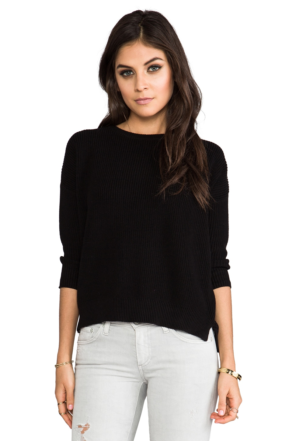 Lovers + Friends for REVOLVE Ava Pullover in Black