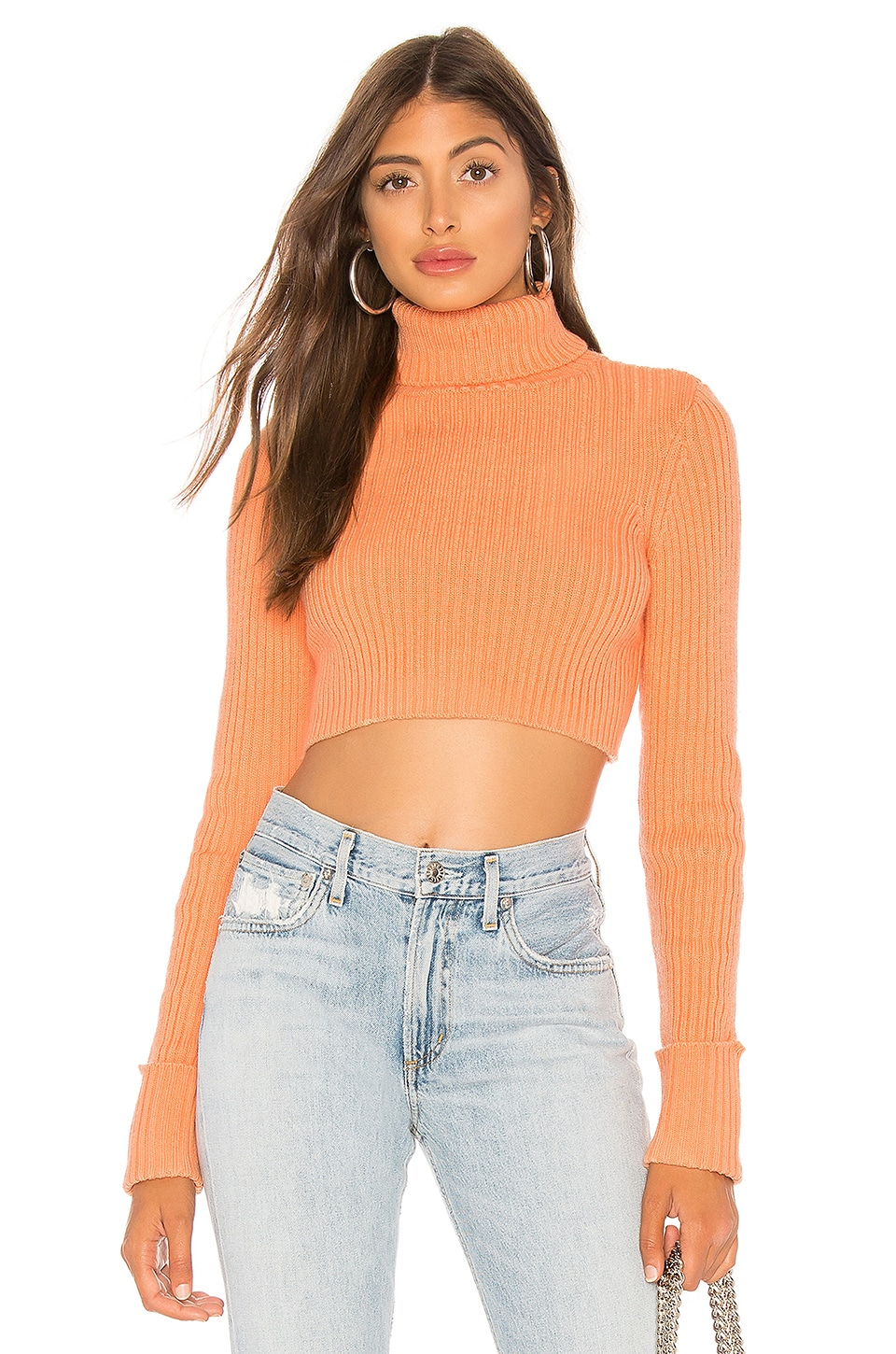 Lovers + Friends Huntington Sweater in Coral