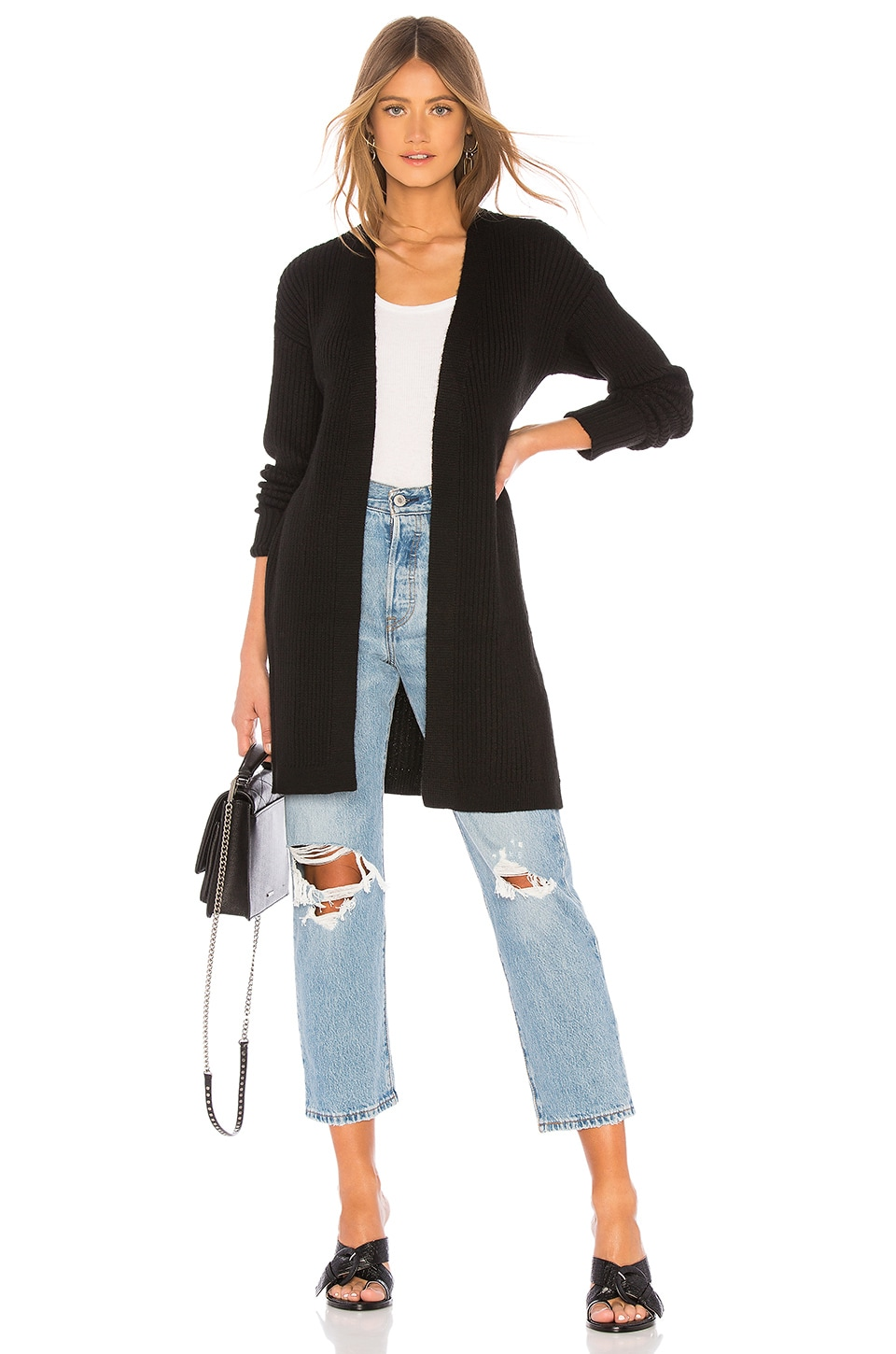 Lovers + Friends Del Mar Duster in Black