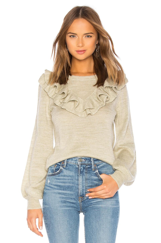 Juliet Ruffle Sweater