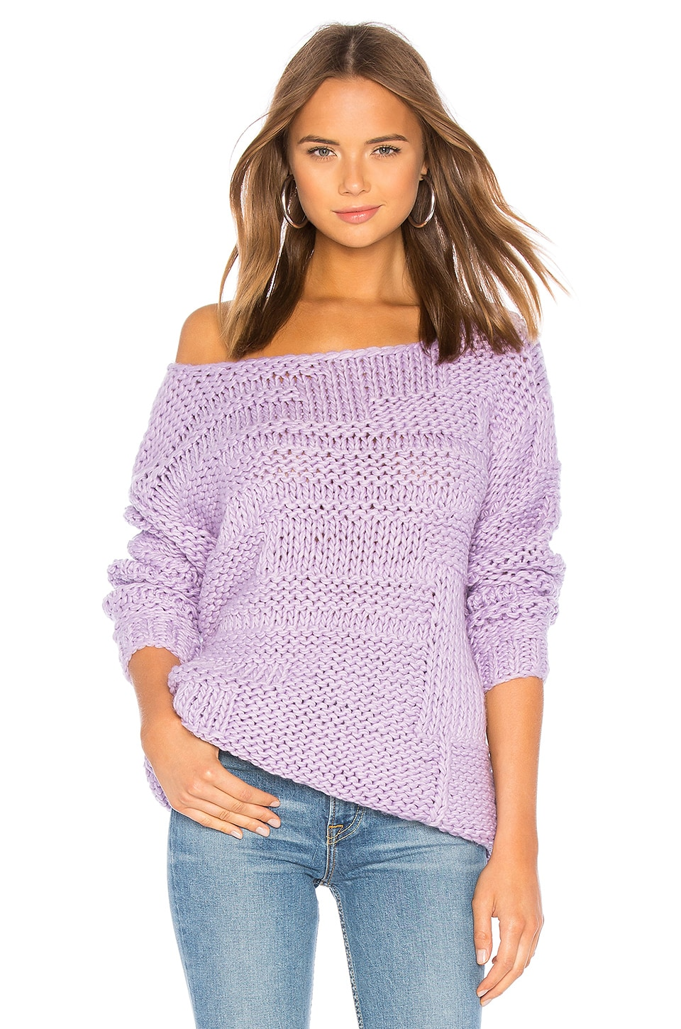 Lovers + Friends Vail Sweater in Lavender