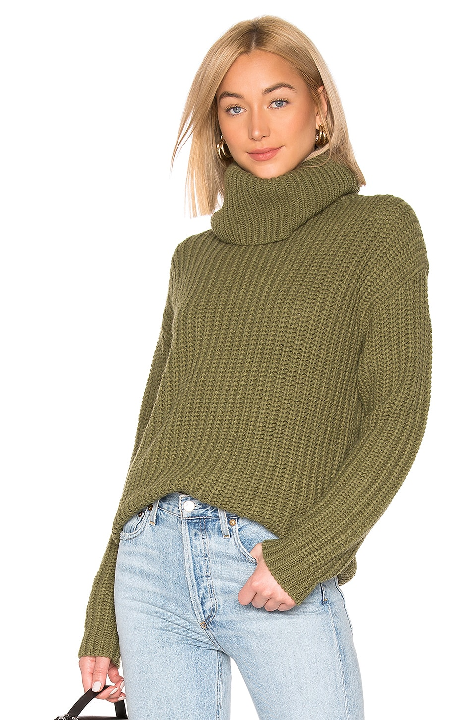Lovers + Friends Marlina Sweater in Sage Green