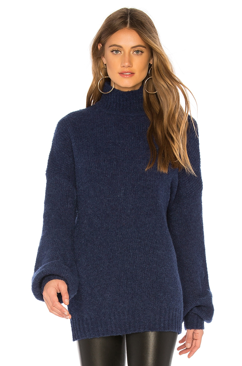Lovers + Friends Independent Sweater in Navy