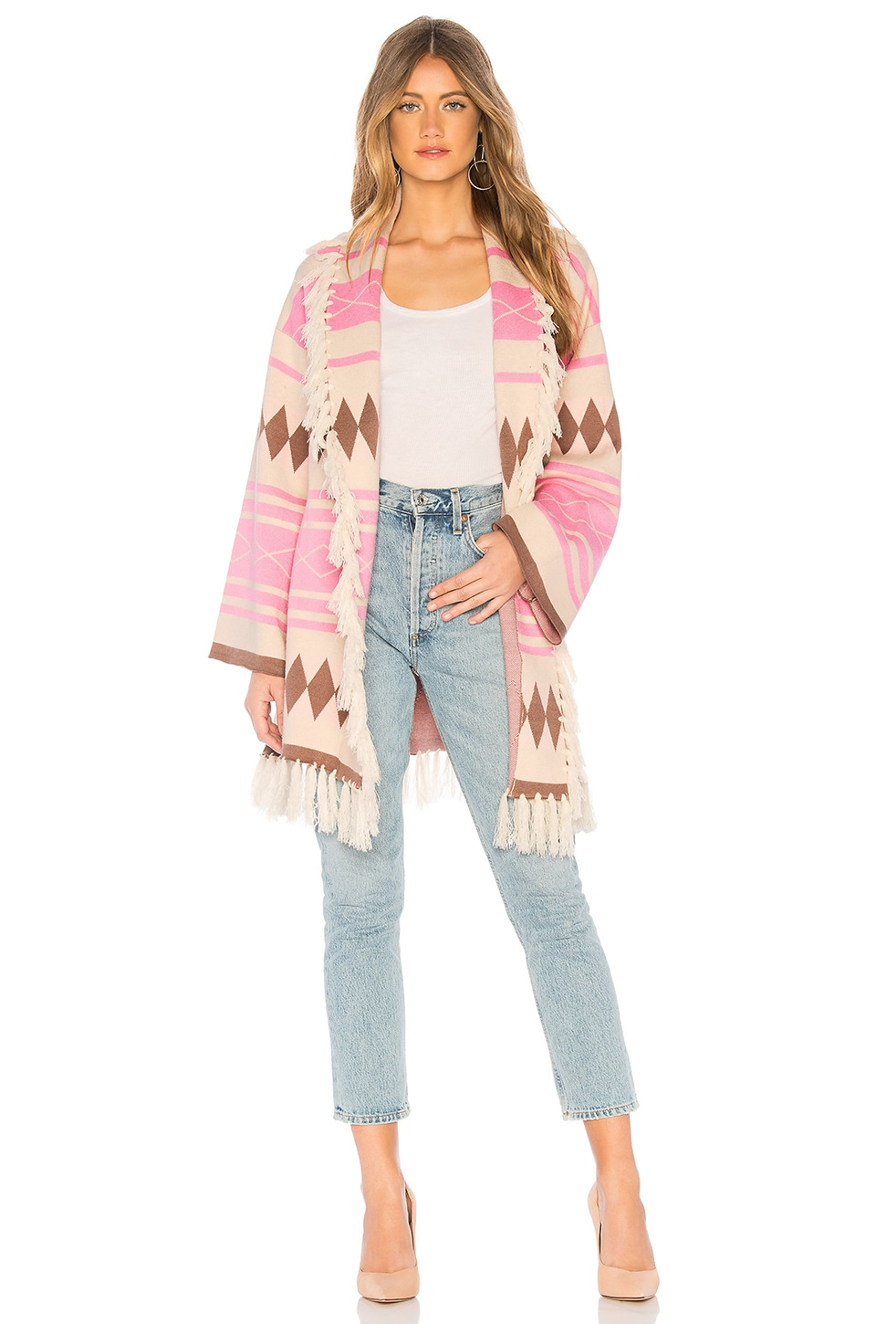 Lovers + Friends Madison Sweater in Pink
