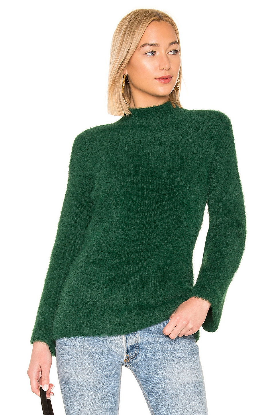 Lovers + Friends Faith Sweater in Emerald
