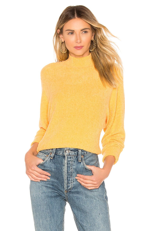 Lovers + Friends Yeva Sweater in Golden Yellow