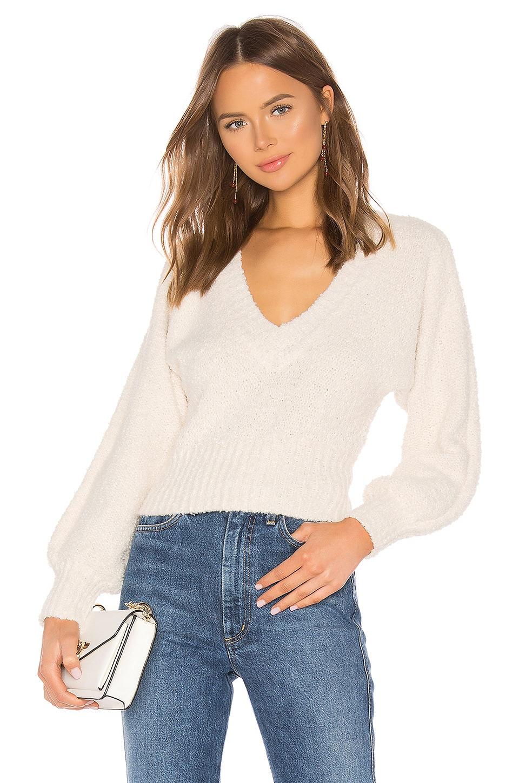 Lovers + Friends Allis Sweater in Ivory