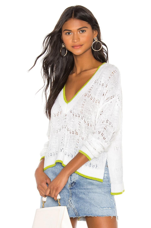 Lovers + Friends Elliot Sweater in White