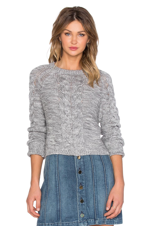 Lovers + Friends x REVOLVE Darcy Crop Sweater in Grey