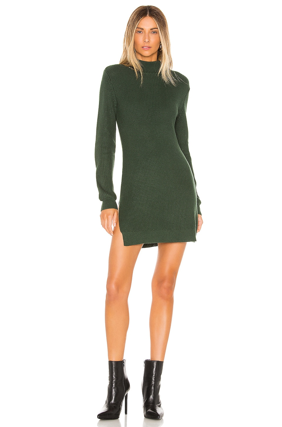 Lovers + Friends Luella Sweater in Forest Green