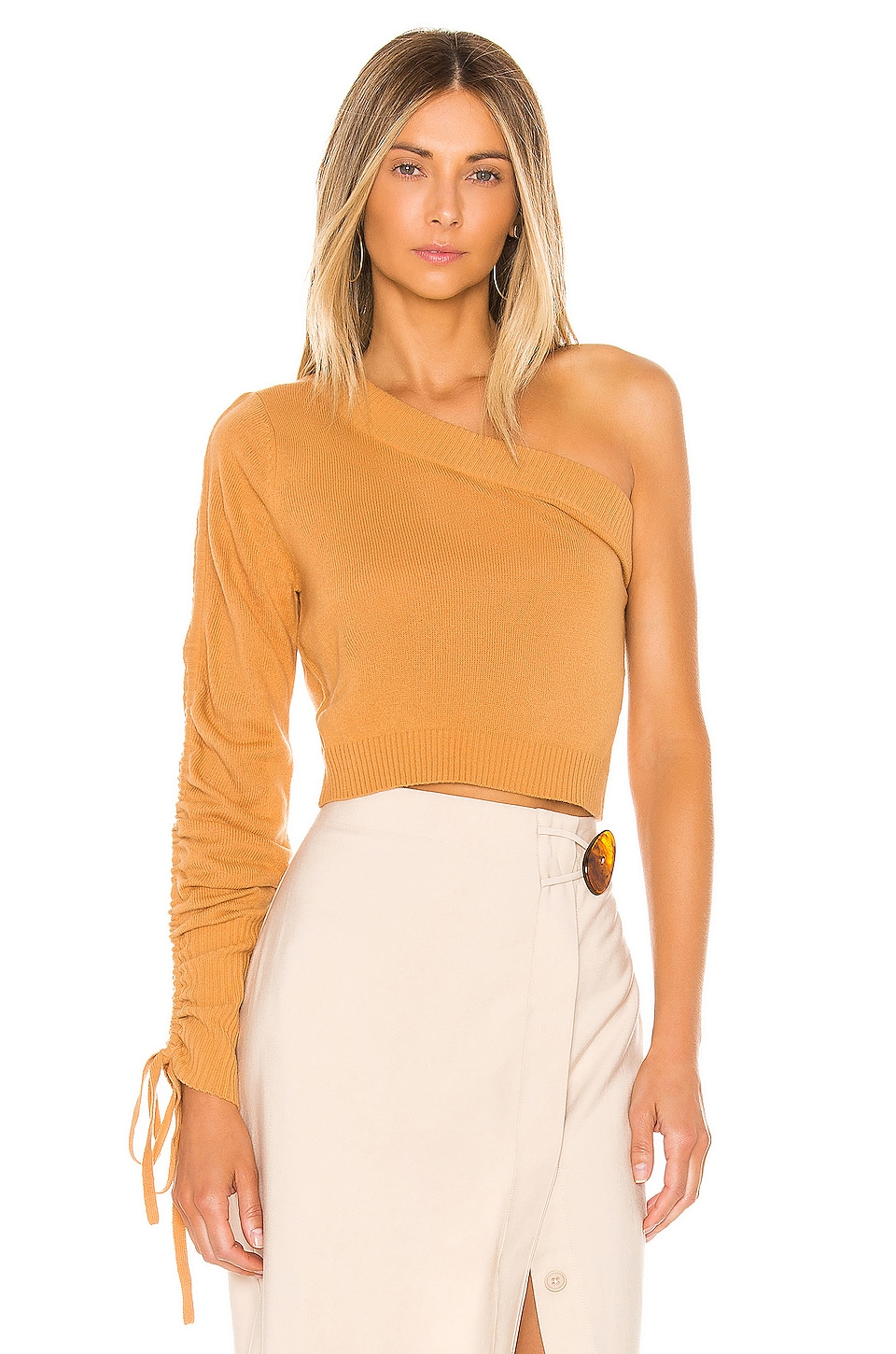 Lovers + Friends Linny Sweater in Tan