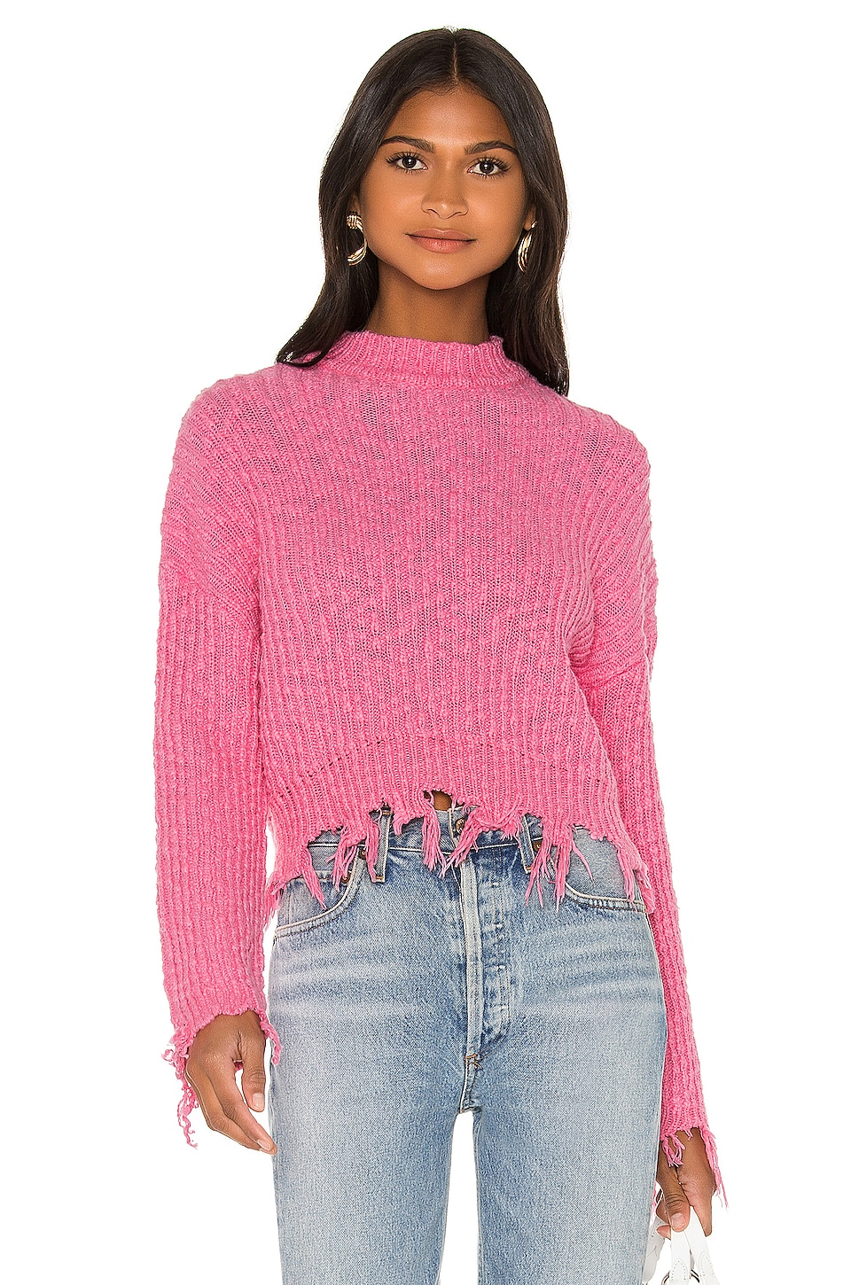 Lovers + Friends Hazel Sweater in Pink