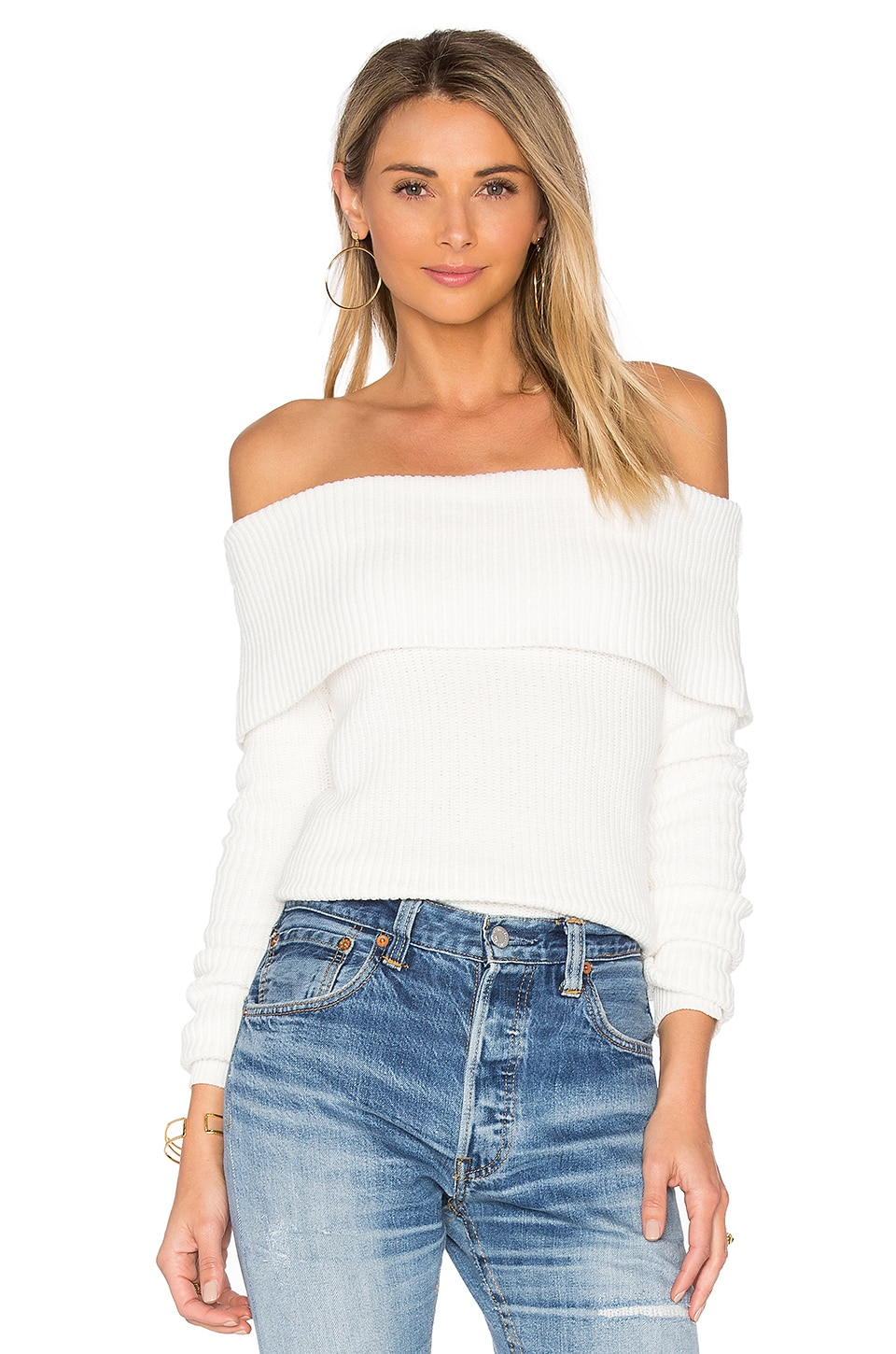 Lovers + Friends x REVOLVE Vylette Sweater in Ivory